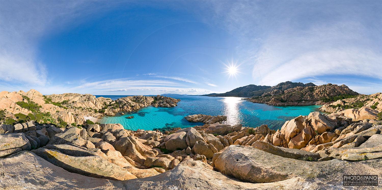 Spiaggette di Cala Coticcio, Caprera | PHOTO&PANO